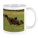Milking Devon Cattle Mug