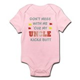 MY UNCLE KICKS BUTT Infant Bodysuit
