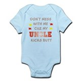 MY UNCLE KICKS BUTT Onesie