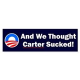 Anti-Obama Bumper Sticker (50 pk)