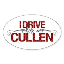 Drive Like a Cullen Oval Decal