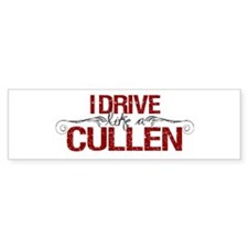Drive Like a Cullen Bumper Sticker (50 pk)