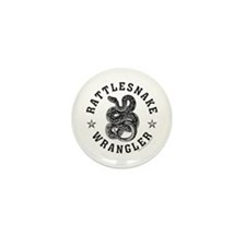 RATTLESNAKE Mini Button (10 pack)