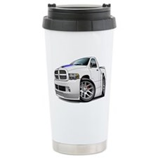 SRT10 White Truck Ceramic Travel Mug