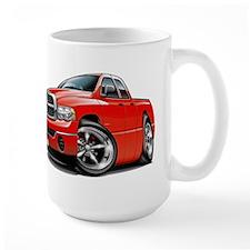 Dodge Ram Red Dual Cab Mug