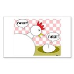 S'Awright! Rectangle Sticker 50 pk)