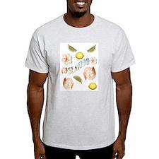 Seafood Ash Grey T-Shirt