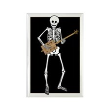Cigar Box Guitar Bones Rectangle Magnet (100 pack)