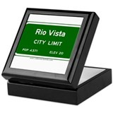 Rio Vista Keepsake Box