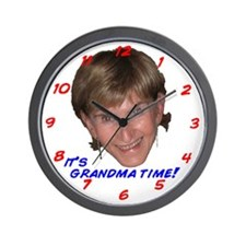 Grandma Time Wall Clock
