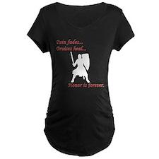 Honor is Forever Maternity Dark T-Shirt