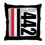 Oldsmobile 442 Throw Pillow