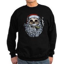 Smokin' Santa Skull Sweatshirt