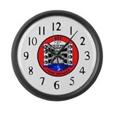USS Point Defiance (LSD 31) Large Wall Clock