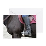 Horse and Rider Greeting Card