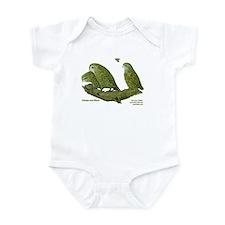 Kakapo and Chicks Infant Bodysuit
