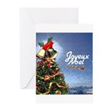 Joyeux Noel Greeting Cards (Pk of 20)
