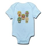 Calaveras (Skulls) Infant Bodysuit