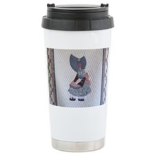 Sunbonnet Sue Ceramic Travel Mug
