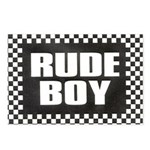 Rude Boy OiSKINBLU Postcards (Package of 8)