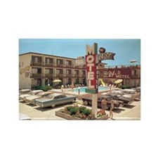 24th Street Motel 1965 Rectangle Magnet (100 pack)