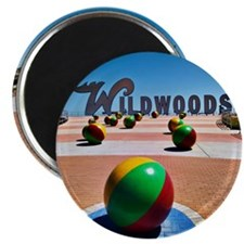 "2.25"" Magnet 100 pack - Wildwoods Sign"