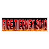 Fire John Tierney (sticker)