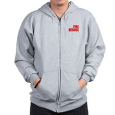 Firefighter Prayer Zip Hoodie