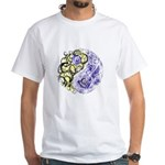 Yin Yang Earth White T-Shirt
