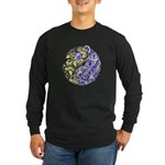 Yin Yang Earth Long Sleeve Dark T-Shirt