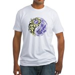 Yin Yang Earth Fitted T-Shirt