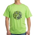 Yin Yang Earth Green T-Shirt