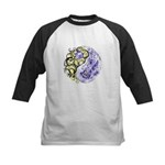Yin Yang Earth Kids Baseball Jersey