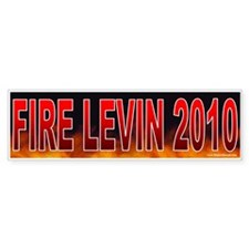 Fire Sander Levin (sticker)