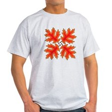 Red Oak Leaves T-Shirt