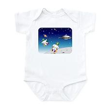 Aliens battle Infant Bodysuit