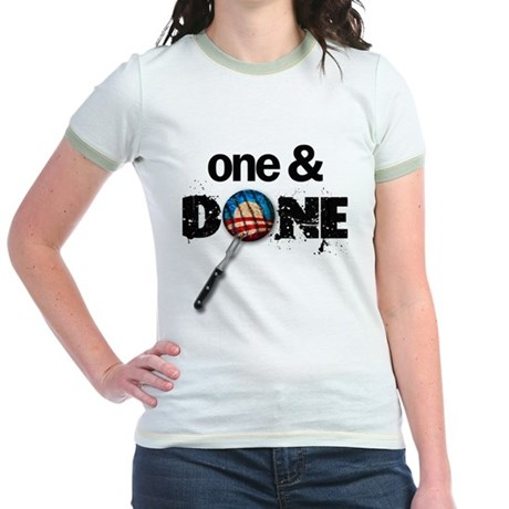 One & DONE Jr. Ringer T-Shirt