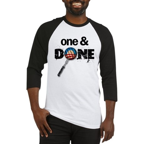 One & DONE Baseball Jersey