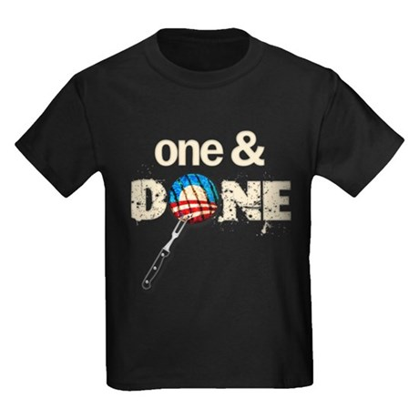One & DONE Kids Dark T-Shirt