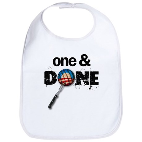 One & DONE Bib