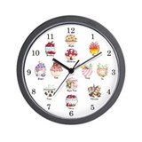 Cozy Kitchen Wallclock