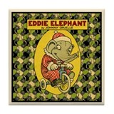 EDDIE ELEPHANT Tile Coaster