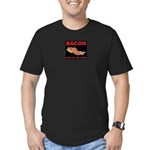 Bacon food of the gods Men's Fitted T-Shirt (dark)