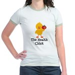 The Health Chick Jr. Ringer T-Shirt