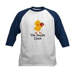 The Health Chick Kids Baseball Jersey