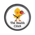 The Health Chick Wall Clock