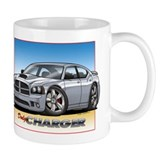 Silver Dodge Charger Coffee Mug