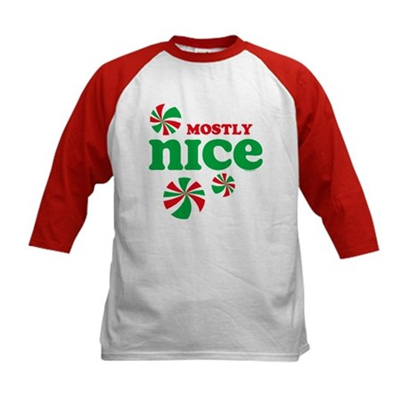 Nice Candy Kids Baseball Jersey
