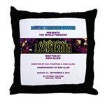 Bollywood Lysistrata Throw Pillow