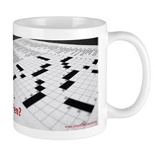 Crosswords in Pen Mug